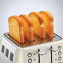 Morphy Richards Evoke 4 Slice Toaster 240109 White Four Slice Toaster
