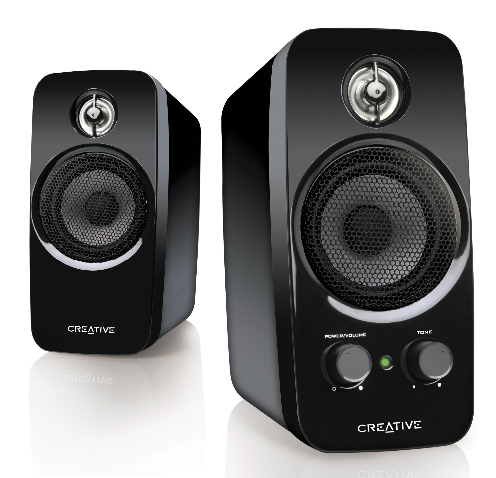 creative inspire t10 multimedia speakers electronics. Black Bedroom Furniture Sets. Home Design Ideas