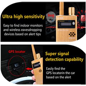 Anti-Spy Wireless RF Signal Detector – FPISPYSOURCE