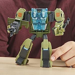 HASBRO Transformers cyberverse Adventures Ultra Rack and Ruin Action Figure