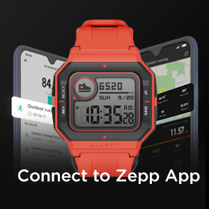 Works with Zepp App