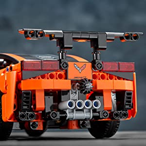 Technic jantes pneus voiture 42096 42056 42083 42110 Blocs de construction Blocs MOC Set Bleu
