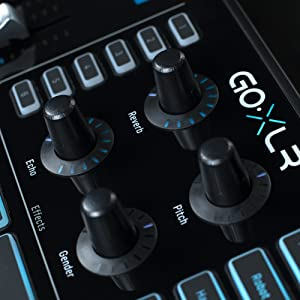 tc helicon goxlr mixer sampler voice fx for streamers musical instruments. Black Bedroom Furniture Sets. Home Design Ideas