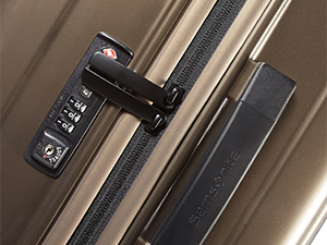 samsonite; neopulse; maleta; spinner; maleta de 4 ruedas; maleta cierre tsa maletas 55x40x20