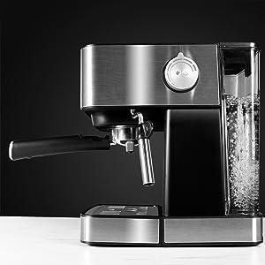 Cecotec Cafetera Espresso Power Espresso 20 Matic. Presión ...
