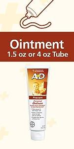 #1 Pediatrician Rec. A+D Ointment tube, vit Aamp;D,prevent diaper rash,free of dyes,parabens,phthalates