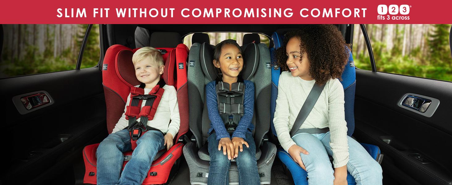 slim fit car seat