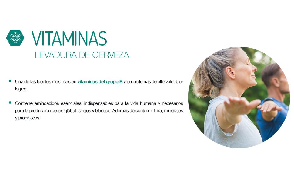 Ana Maria Lajusticia - Levadura de cerveza – 280 comprimido. Contribuye mantener un cabello sano, unas uñas fuertes y una piel tersa. Envase para 70 ...