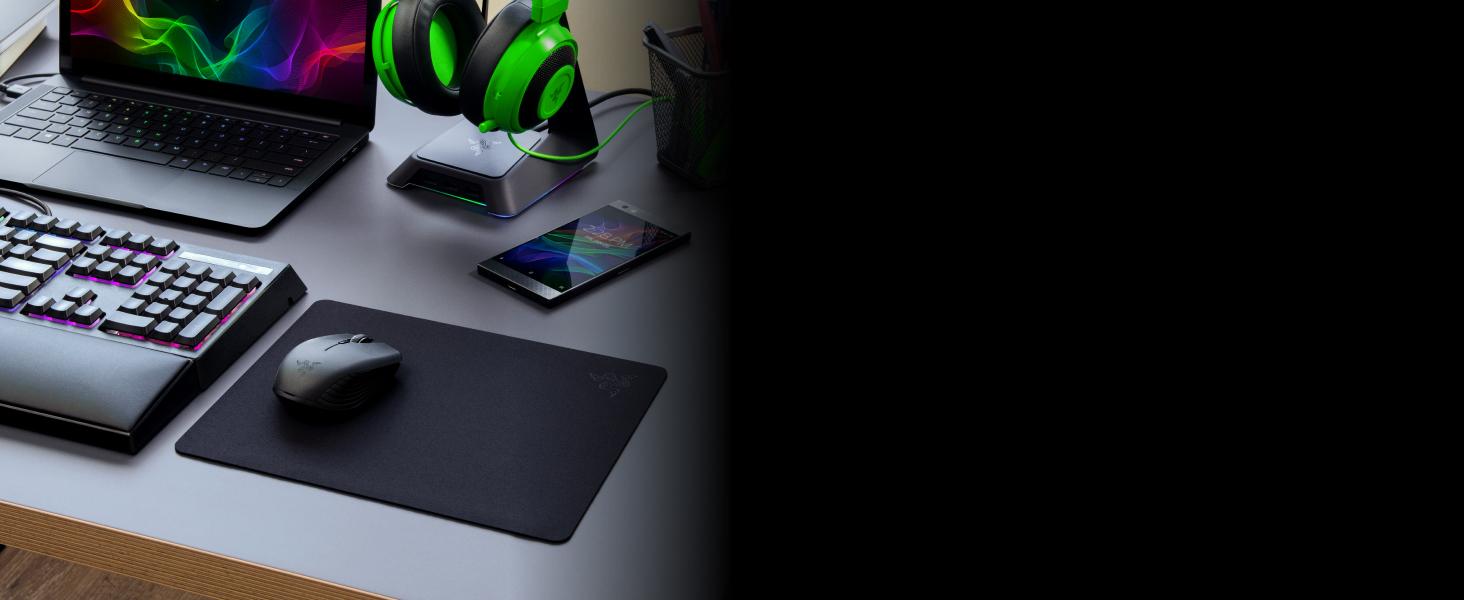 Razer Atheris Ambidextrous Wireless Mouse: 7200 DPI Optical Sensor - 350 Hr  Battery Life - USB Wireless Receiver & Bluetooth Connection - Matte Black