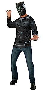 adult black panther shirt