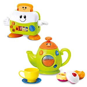 Amazon.com: WINFUN Toast N Fun & Sweet Juego de té: Baby