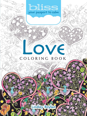 Adult Coloring, Love