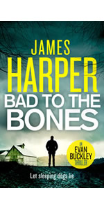 Bad To The Bones by James Harper, Evan Buckley, private detective mystery