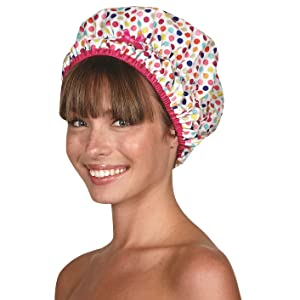 betty dain kistch luxe shower cap showercap shhhower