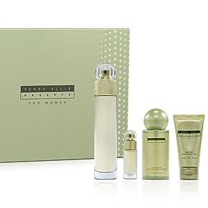 perry ellis reserve women parfum spray gift set value gel cream perfume sexy fresh fruity floral