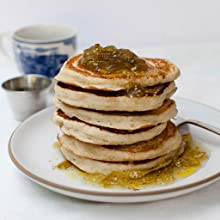 Pancakes with Tomato Marmedlade