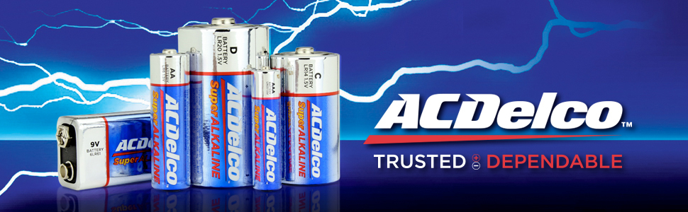 ACdelco batteries batteries pack aaa battery bulk long lasting large double a d cell max
