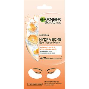 Garnier Hydra Bomb Orange Eye Tissue Mask