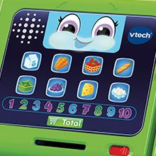 vtech 81604f ma caisse enregistreuse interactive jeux et jouets. Black Bedroom Furniture Sets. Home Design Ideas