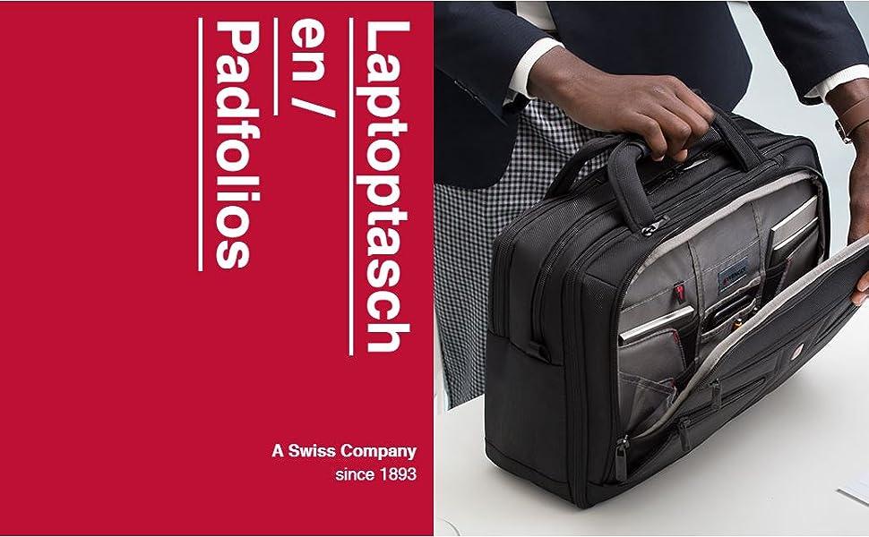 Wenger 600643 Sensor 15 Zoll Laptop Aktentasche Computer Zubehör