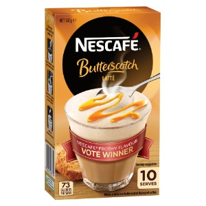 Nescafe Butterscotch Latte