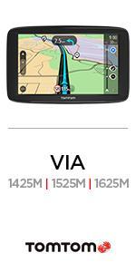 Amazon.com: TomTom VIA 1525SE 5-Inch GPS Navigation Device