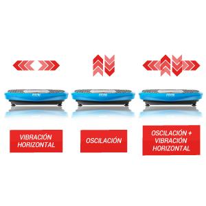 Plataforma Vibratoria Oscilante, Talla Única