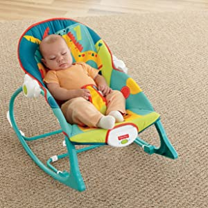 e4f07a4c2 Amazon.com   Fisher-Price Infant-to-Toddler Rocker