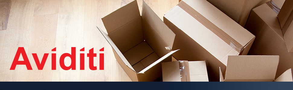 Corrugated Cardboard Boxes for Packing, Mailing, Shipping, and Storage