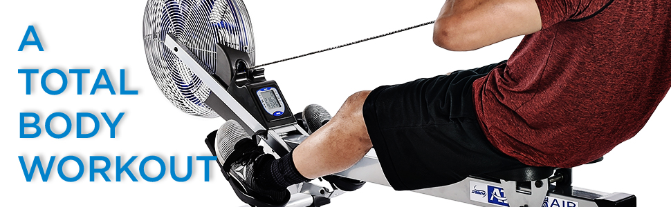 stamina ats air rower 1405 total body workout fitness exercise