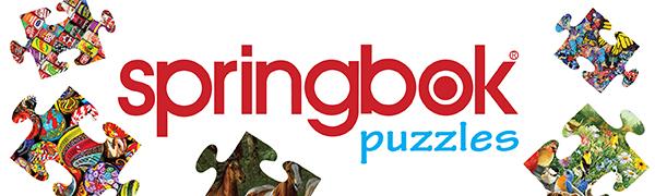 Springbok puzzles, Springbok jigsaw puzzles, American made jigsaw puzzles, unique puzzles