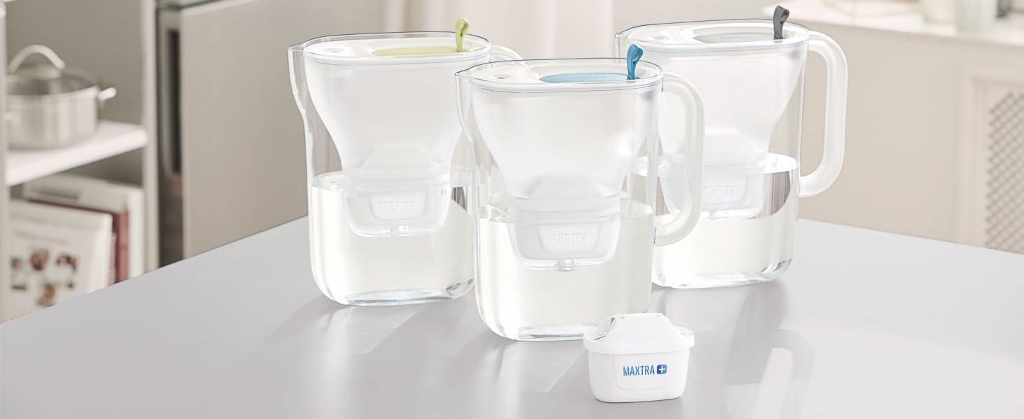 BRITA Wasserfilter Style XL hellblau inkl. 1 MAXTRA+