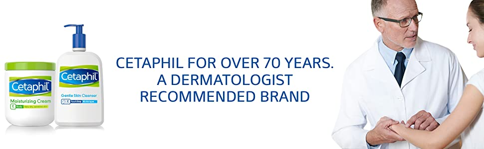 Cetaphil, Moisturizing Lotion, Dermatologist Recommended Brand