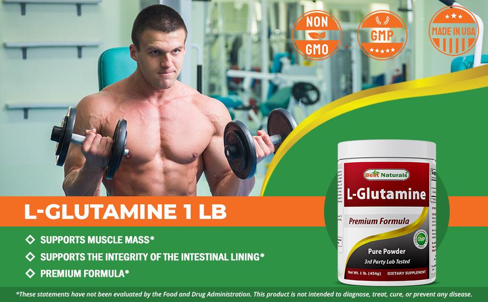 L-Glutamine 1 LB Powder