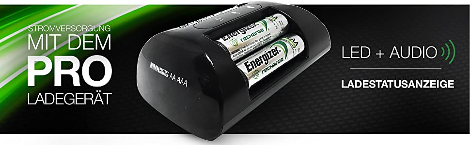 Energizer Ladegerät Batterien Recharge Pro Für Elektronik