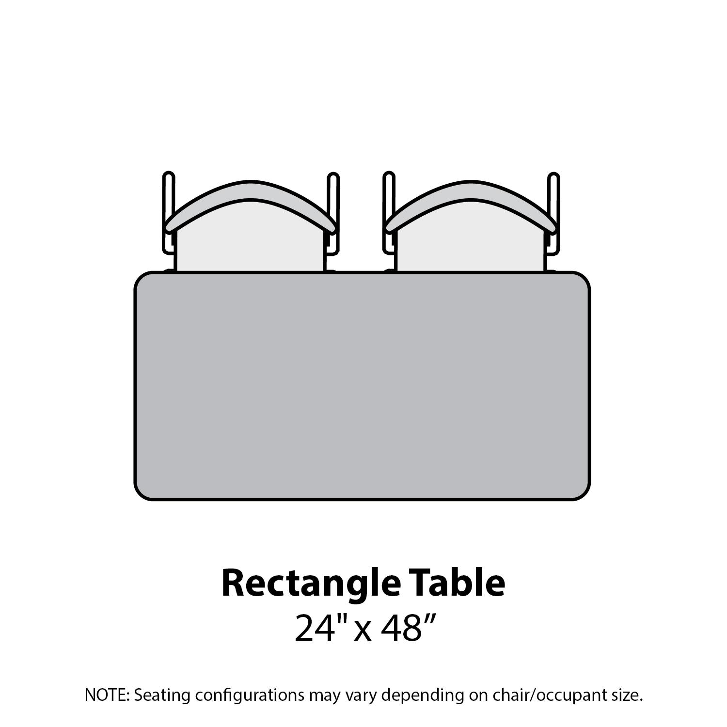 Amazon.com: Marco Group 2200 Series Rectangle Activity Table with ...