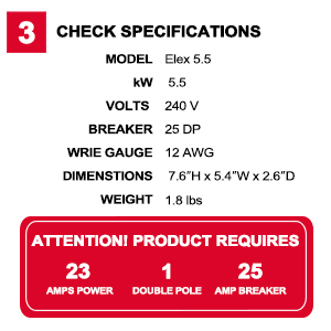 Check specifications