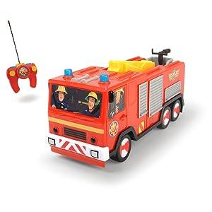 Dickie Toys 203099612 Rc Feuerwehrmann Sam Jupiter