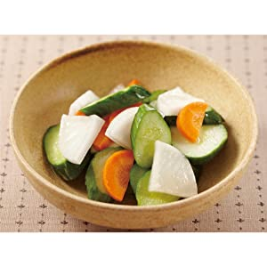 液体塩こうじで野菜の浅漬け
