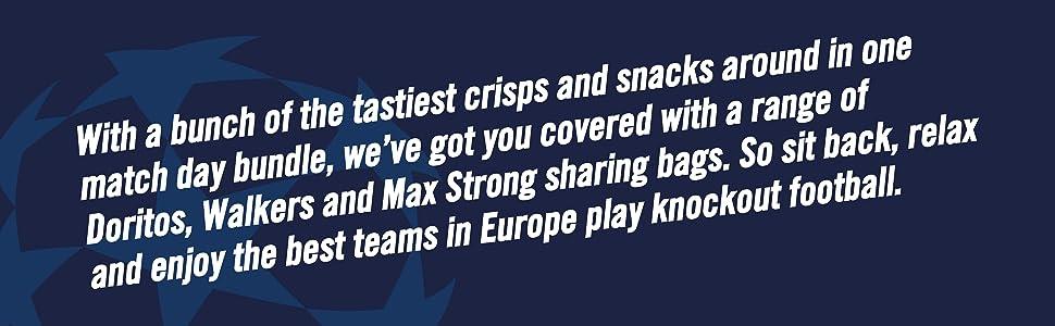 Doritos, Walkers, Max Strong, UEFA,