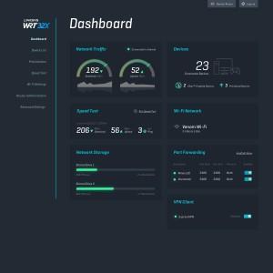 Linksys WRT32X - Custom-Built User Interface