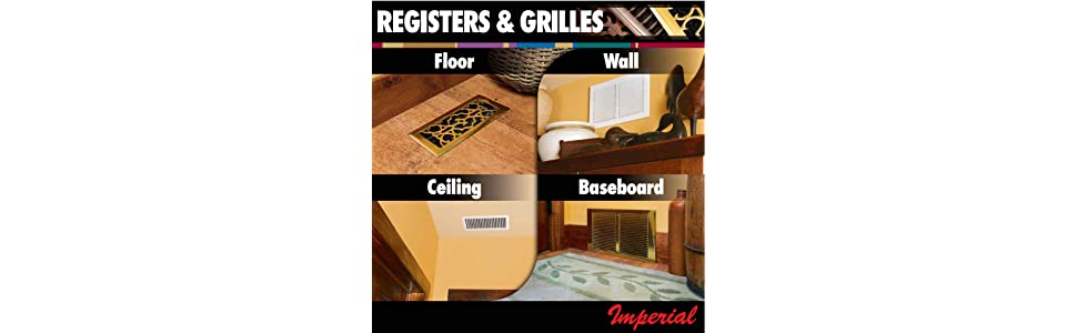 vent; vents; register; registers; grill; grille; vent cover; cover; furnace; heating; home heating;