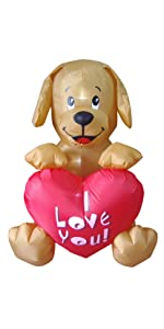 bzb goods valentines inflatables inflatable airblown decor sunstar outdoor decoration gemmy blowup ...