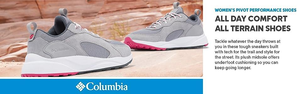 Columbia Women's Pivot Performance Trail running shoe