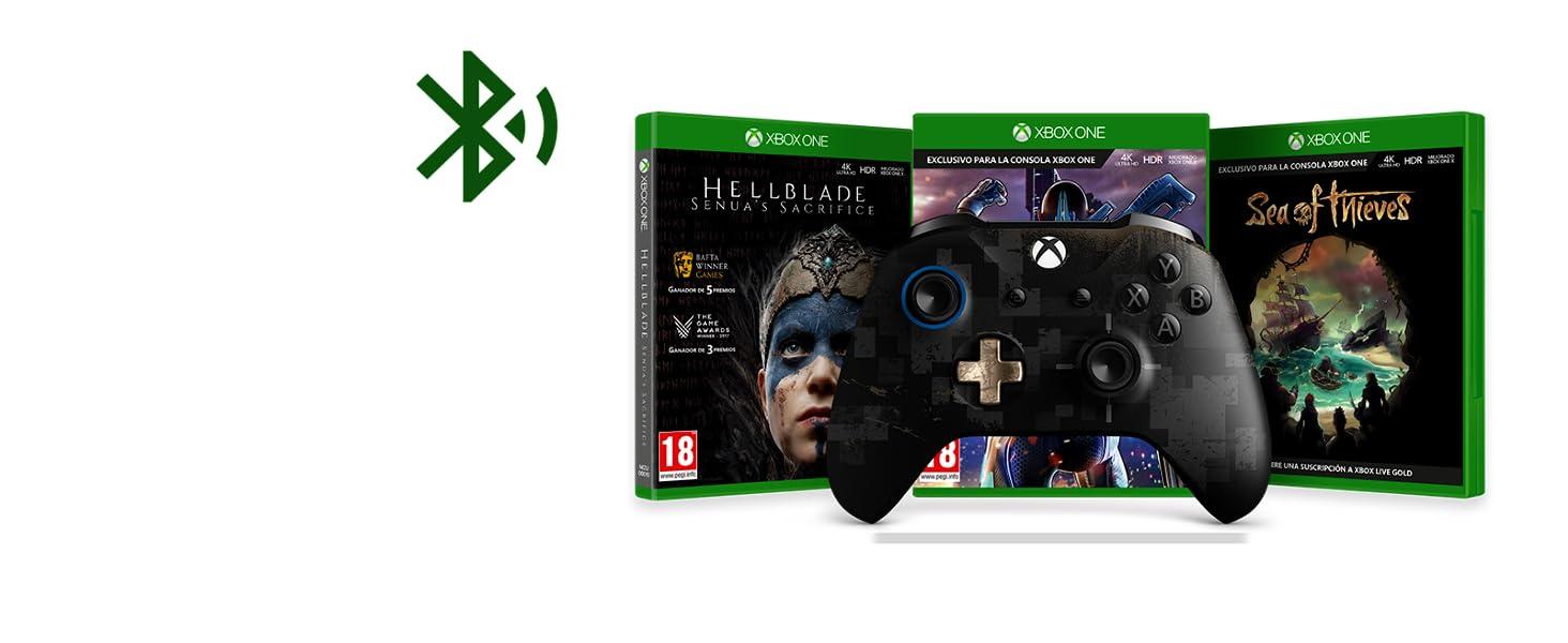 Microsoft - Mando Inalámbrico PUBG Edición Limitada (Xbox One), negro: Amazon.es: Videojuegos