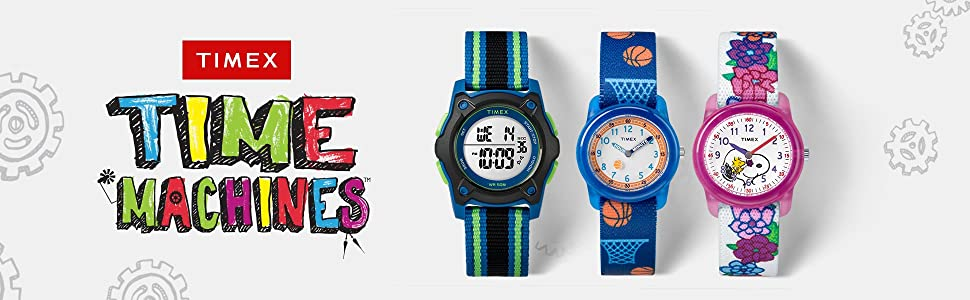 Timex Time Machines kids watches