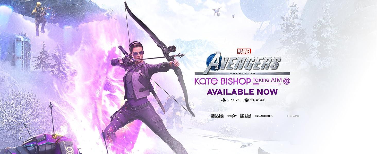 Kate Bishop, Avengers,Marvel's Avengers