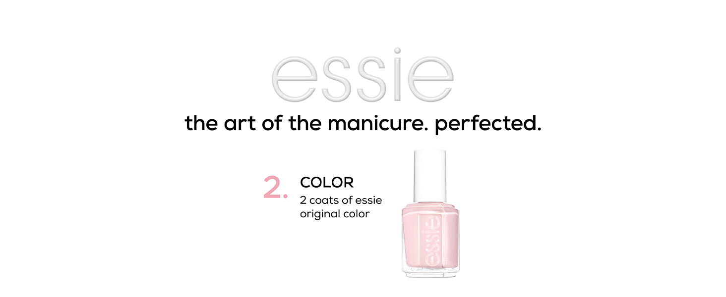 how to do a manicure, at-home manicure, essie nail polish, essie nail color, essie nail polish