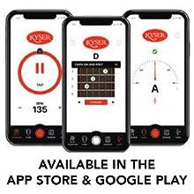 Kyser, capo, guitar capo, acoustic guitar, accessory, app