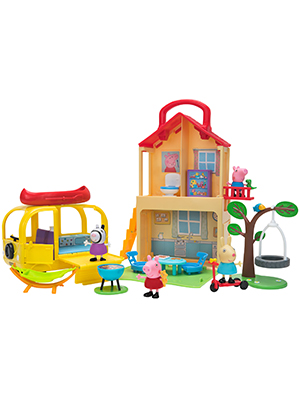 peppa pig playset toys for children toddlers
